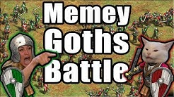 Memey Goths Battle