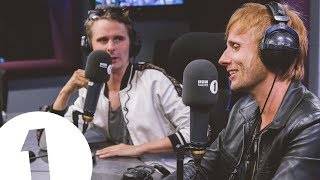 Muse talk Reading & Leeds plans with Annie Mac