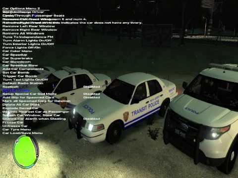 N.J Transit Police Lineup GTA 4 LCPDFR