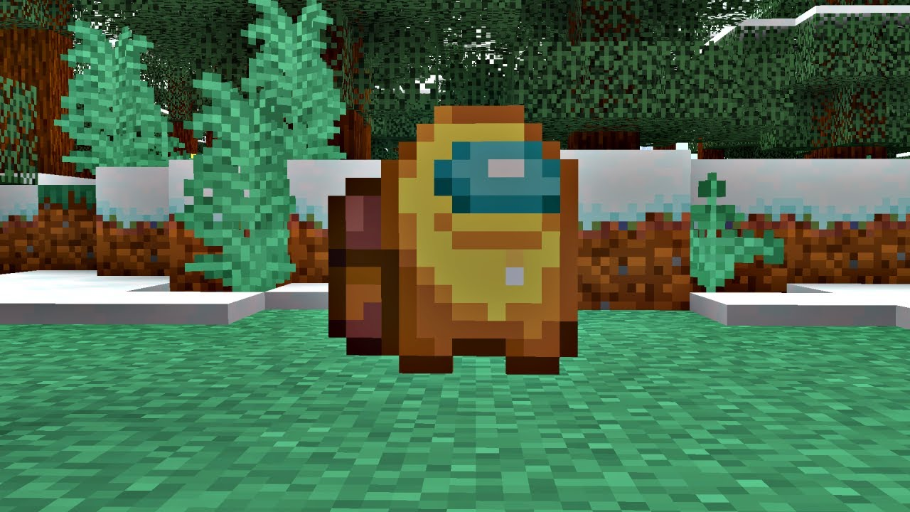 Minecraft is SUS / AMOGUS MEME