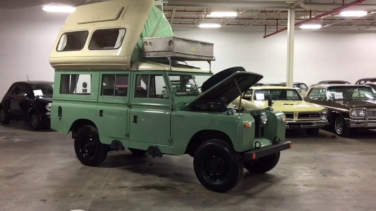 1966 Land Rover Dormobile - YouTube