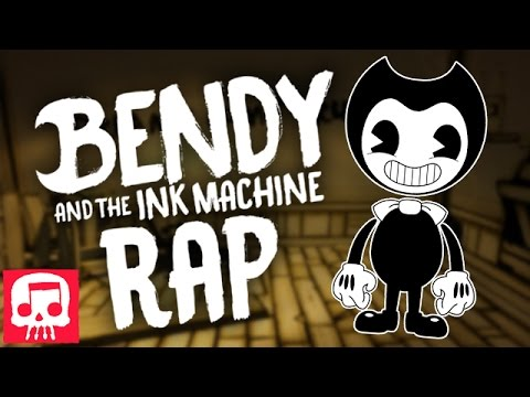"Thumbnail: BENDY AND THE INK MACHINE RAP by JT Machinima ""Can't Be Erased"""