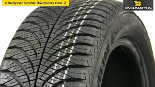 видео Купить шины Goodyear Vector 4 Seasons GEN-2 225/50 R17 94 V в Калининграде