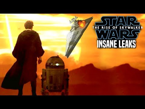 INSANE The Rise Of Skywalker Leaks Revealed! (Star Wars Episode 9)