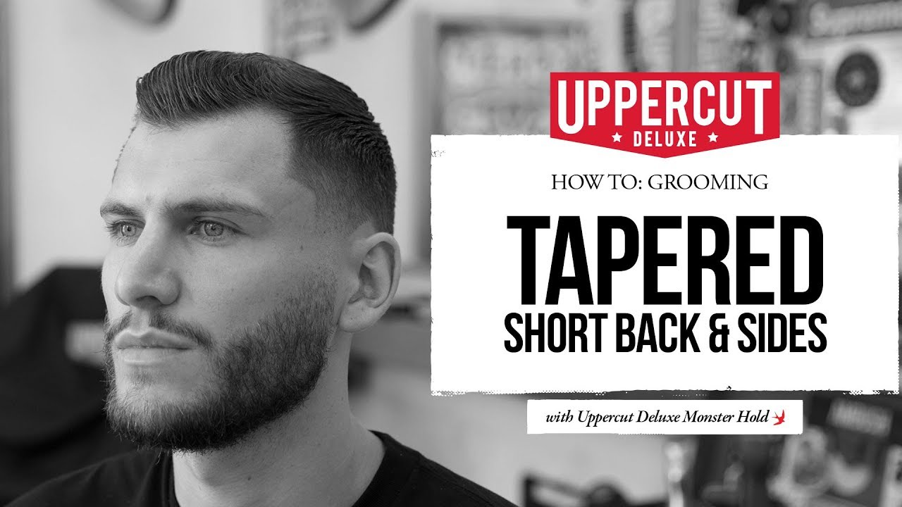 How To Grooming Tapered Short Back Sides Youtube