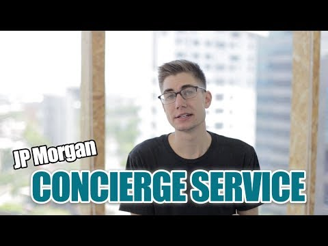 How to Use JP Morgan Concierge (or AMEX Concierge)