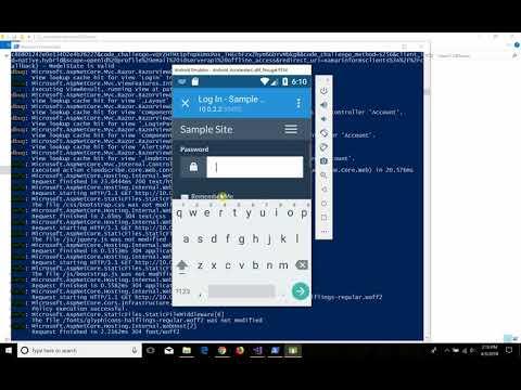 cloudscribe IdentityServer4 integration xamarin demo - YouTube