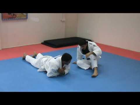Judo training with Vladimir Elchaninov and his Tajikistan judoka Akmal and Shakhar, Haifa, Israel