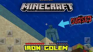 How To Make An IRON GOLEN (MINECRAFT)