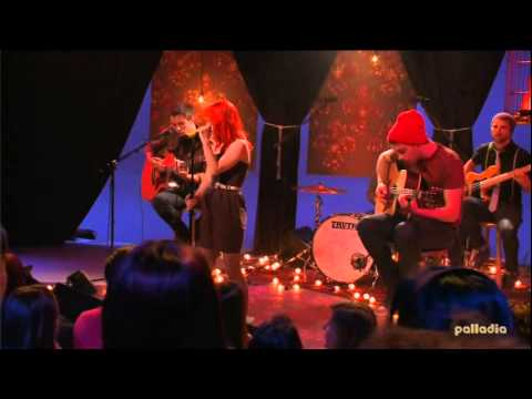 Paramore - MTV Unplugged parte 1