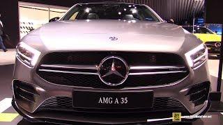 2019 Mercedes AMG A35 - Exterior and Interior Walkaround - 2019 NY Auto Show