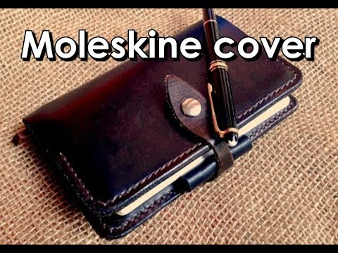 Making a Moleskine leather cover