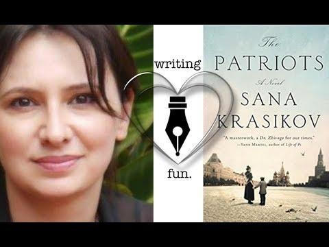 Writing Fun |  Ep. 181 : The Patriots with Sana Krasikov