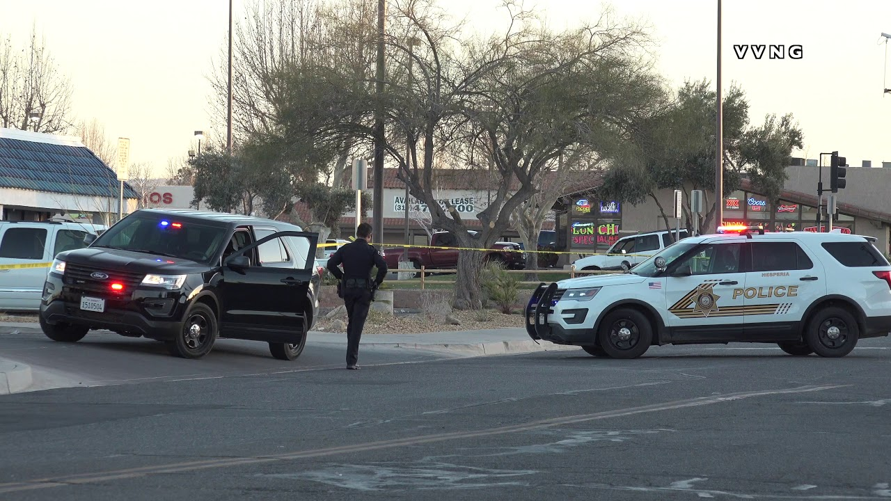 Hesperia County Building Locked-down after man shot outside