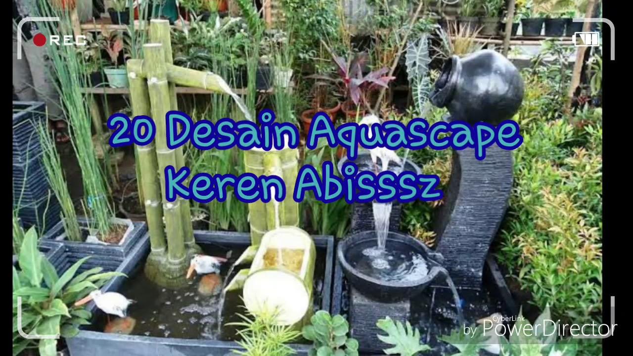 55 Koleksi Ide Desain Aquascape Keren HD Terbaru Untuk Di Contoh