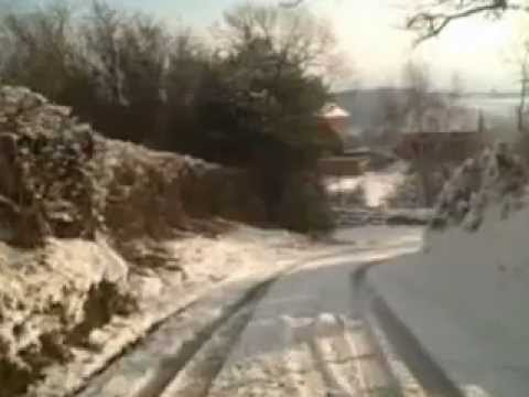 Driving in the Snow in Denbighshire