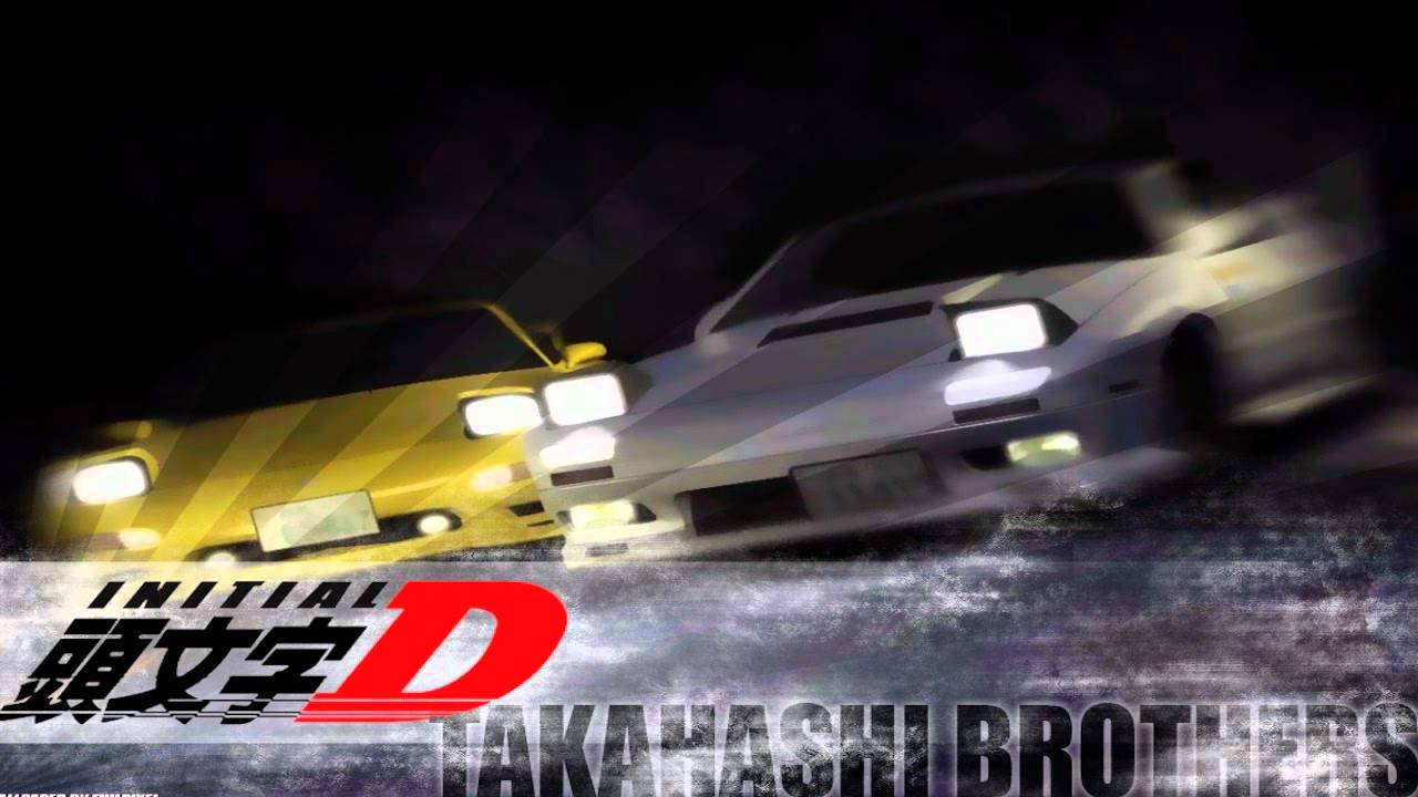 Initial d world initial d non-stop mix from takumi-selection.