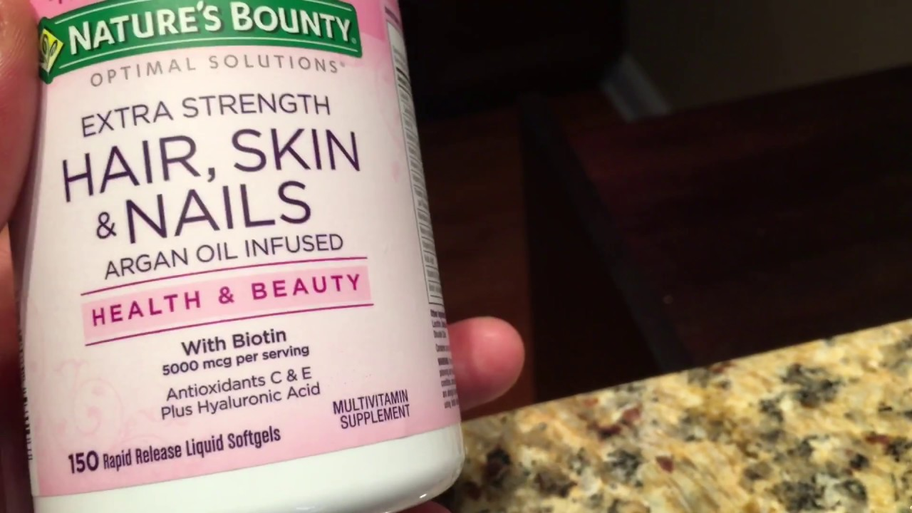 Hair Skin And Nails Supplement Review