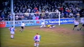 Scunthorpe Utd 1-2 Luton Town Lge Gray Doherty 8th April 2000