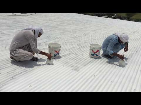 Industrial Steel Shed Waterproofing & Thermal Heat Insulation With Isothane, Samz.com.pk,03219555117