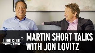 Martin Short and Jon Lovitz Razz Each Other and Talk Comedy - Lights Out with David Spade