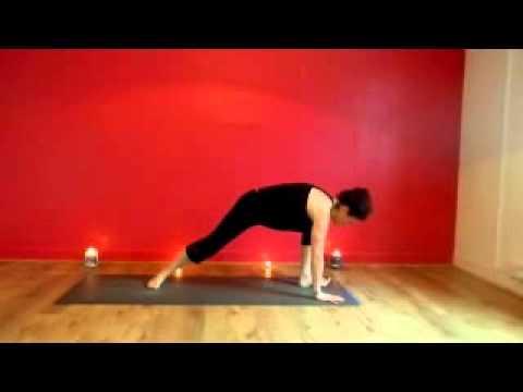 vinyasa flow sequence  paula mitten  durga yoga  youtube