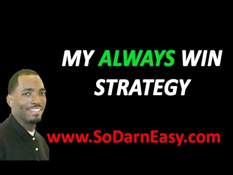 Forex Trading - My Always Win Forex Strategy - So Darn Easy Forex