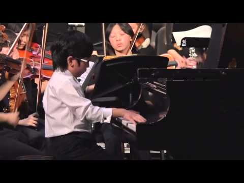 Eugene Hong Piano; Manhattan School of Music Precollege Repertory Orchestra; May 16th  2015;  Mozart