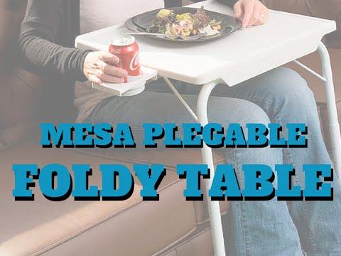 Apoyavasos Foldy Con Mesa Table Plegable WIHe2Y9ED