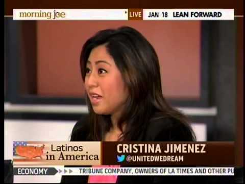 Cristina Jimenez on Morning Joe