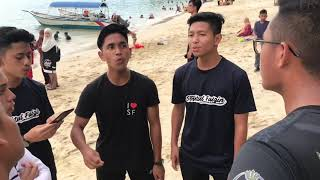 Sesi M&G di Pantai Teluk Nipah Pulau Pangkor sempena SouFa family d...