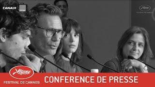 LE REDOUTABLE - Conférence de Presse - VF - Cannes 2017