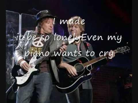 Bon Jovi - Stay (Rare Demo with Lyrics)