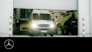 Sprinter - mobilny warsztat do naprawy maszyn rolniczych