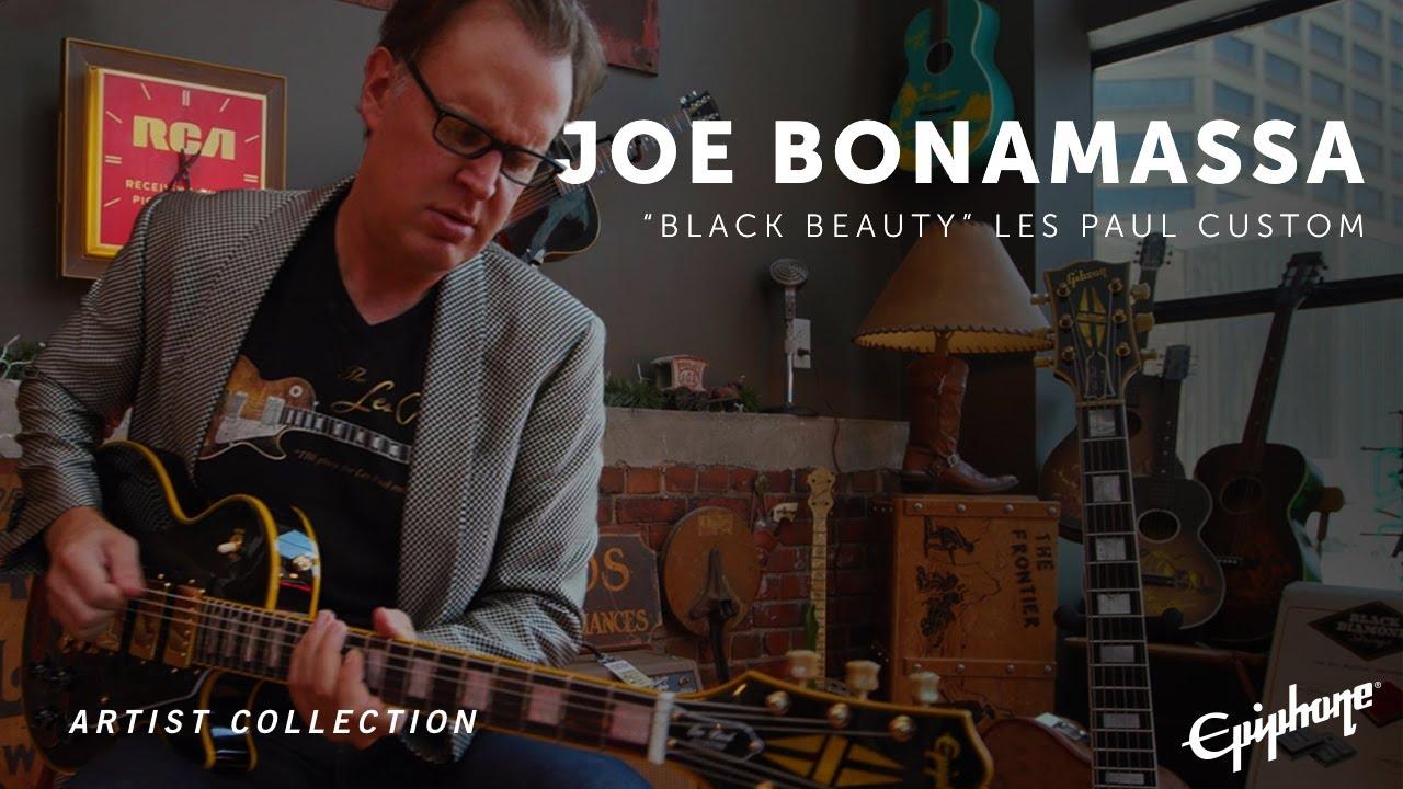 Αποτέλεσμα εικόνας για Epiphone Joe Bonamassa Black Beauty