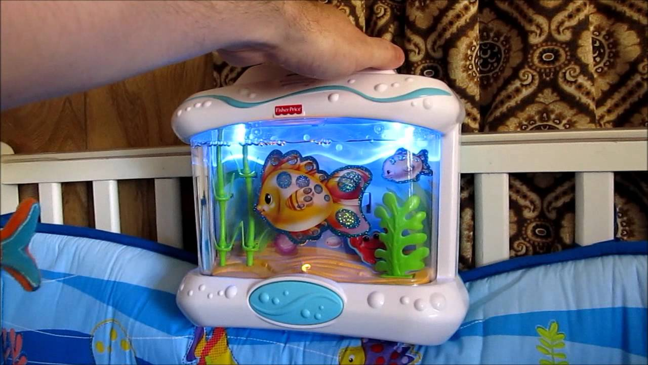 Fisher Price Ocean Wonders Crib Soother Youtube