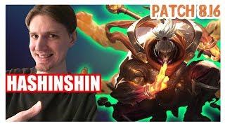 Hashinshin | JAX vs GAREN | JAX Top | JAX Gameplay | Patch 8.16