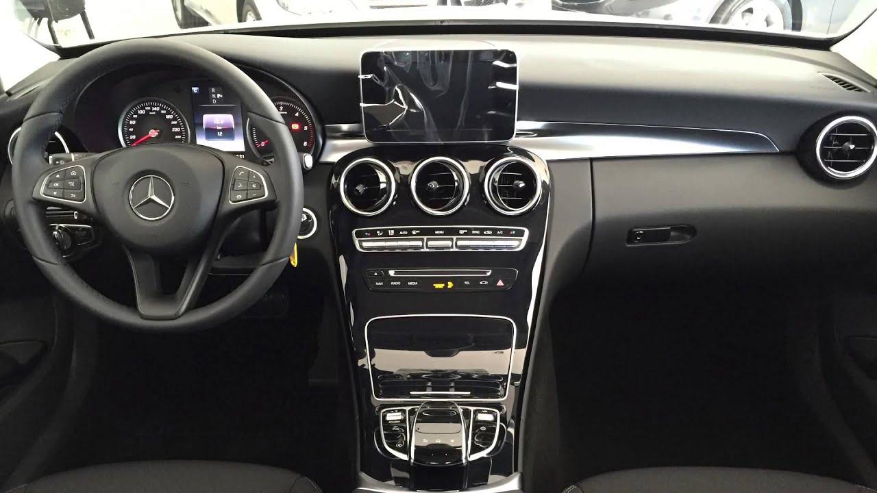 Mercedes benz clase c 220 d autom tico avantgarde youtube for Interior mercedes clase c