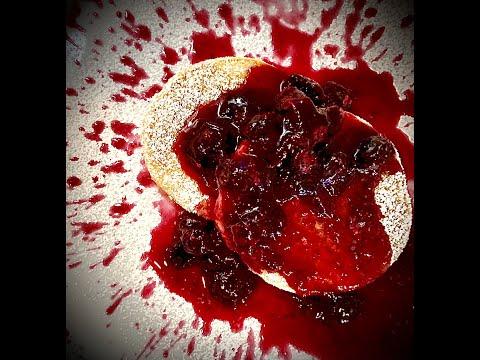 vegan-gluten-free-lemon-ricotta-pancakes-with-blueberries-compote