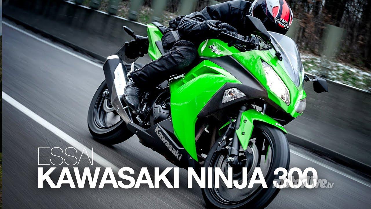 Test Kawasaki Ninja 300 Youtube
