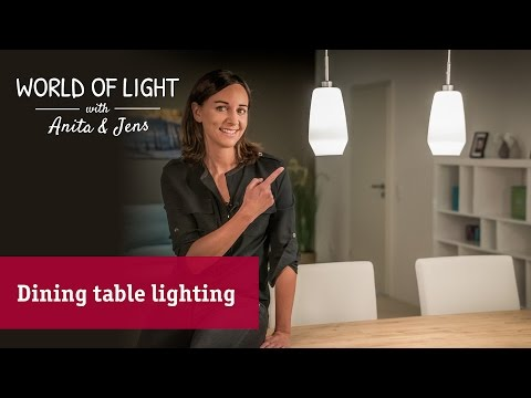 5tips for perfect dining table illumination