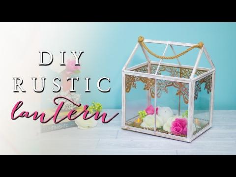 Dollar Tree DIY Lantern | How To Make A Wedding Centerpiece