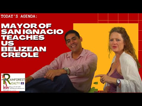 Mayor of San Ignacio teaches us Belizean Creole