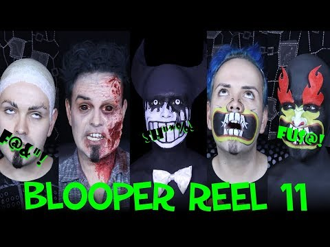 Blooper Reel 11! - More colourful language of a Makeup artist!