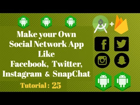 Android Studio Social Network App - Firebase Google sign in | authenticate user - Tutorial 25