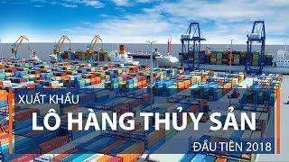 Xuất khẩu lô hàng thủy sản đầu tiên 2018 | VTC1