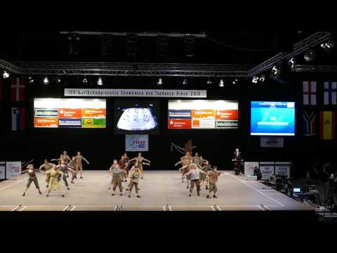 TAP DRAGONS, Opressed People, 8th place at World Tap dance Championship 2016