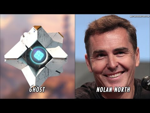Destiny 2 Characters Voice Actors
