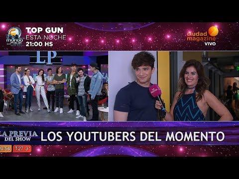 Los Youtubers del momento alentaron a Julian Serrano y a Sofi Morandi