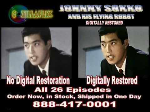 JOHNNY SOKKO Digitally Restored  www.Gozillaflix.com